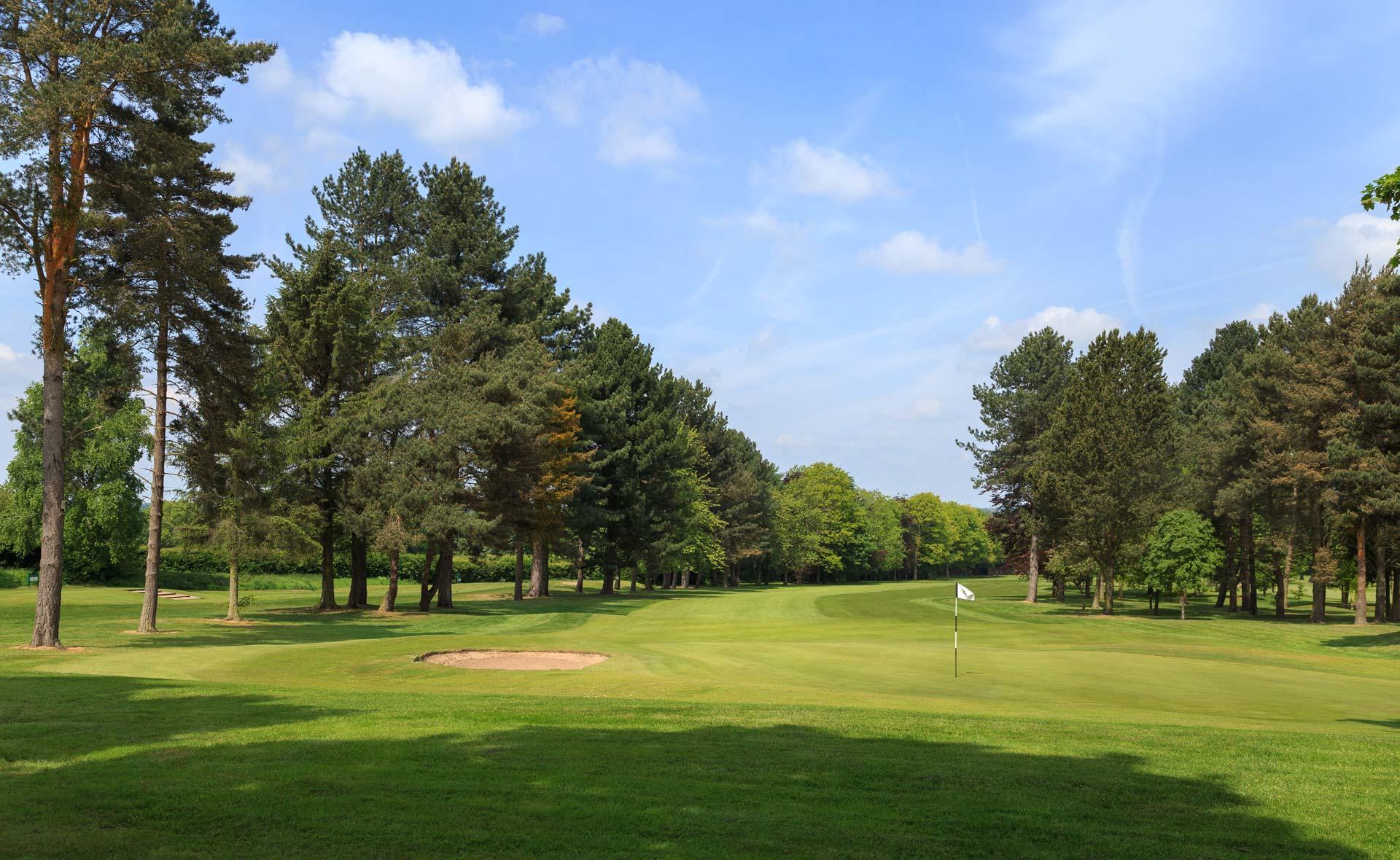 south staffordshire golf club hole 17