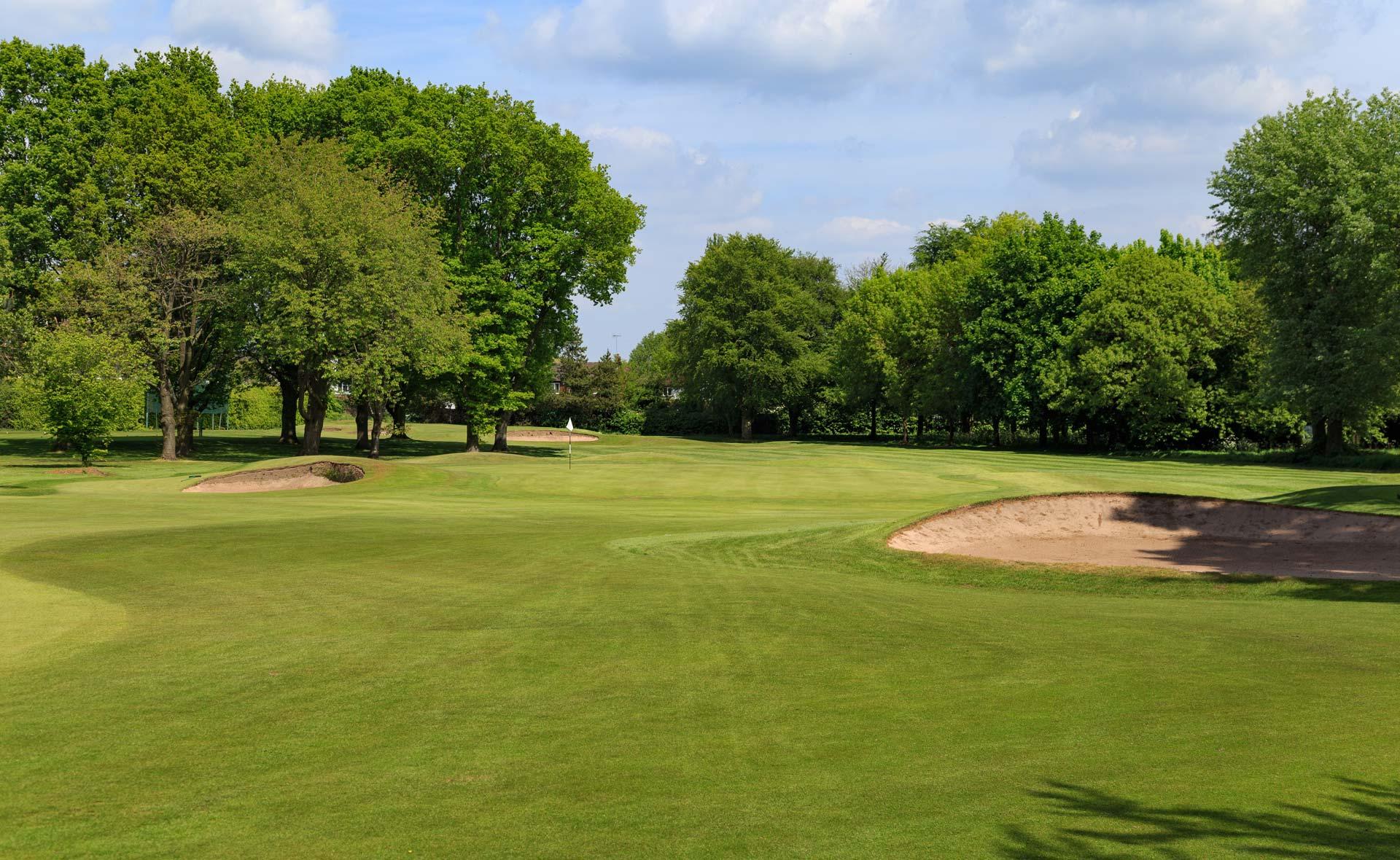 south staffordshire golf club hole 10