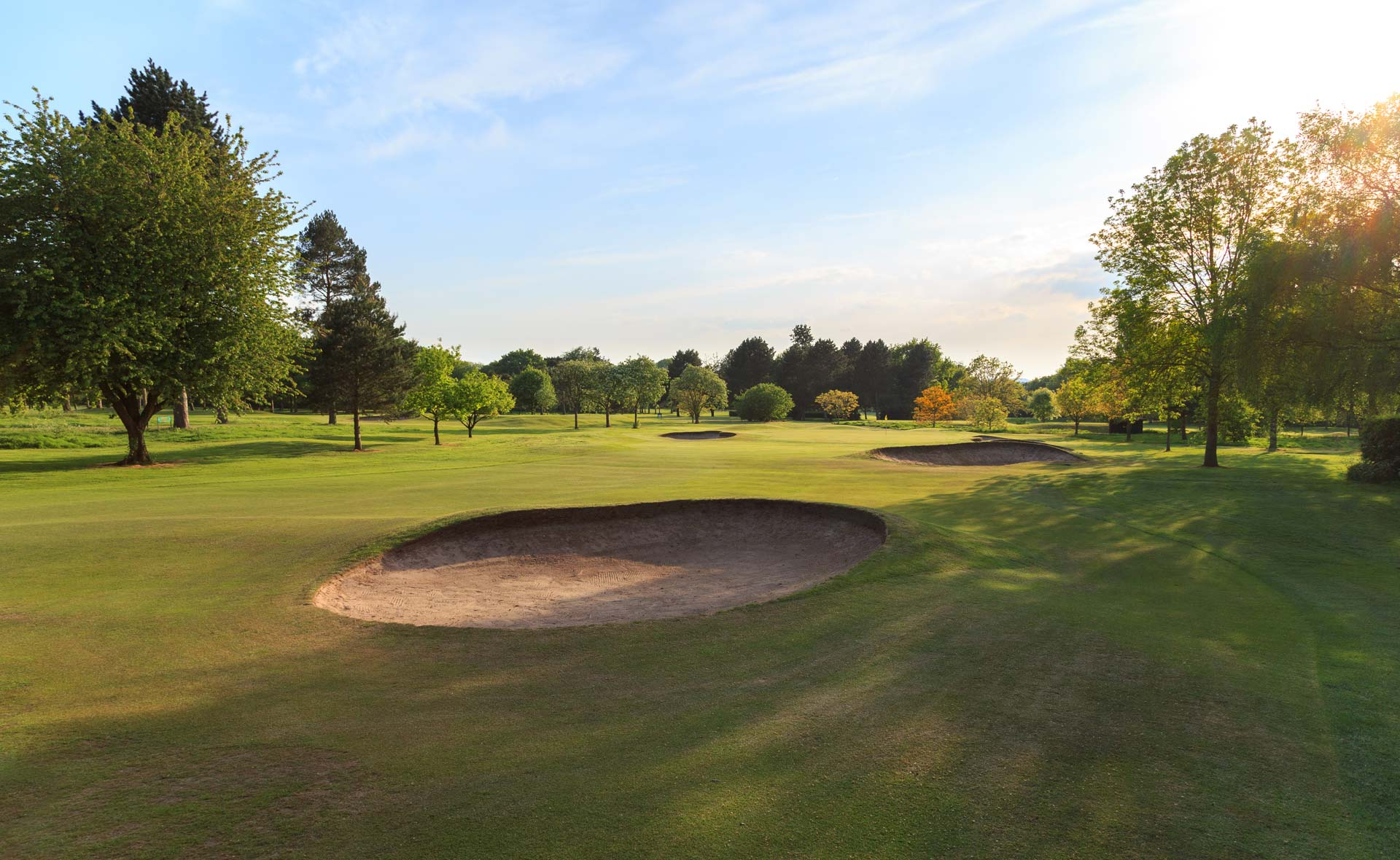 south staffordshire golf club hole 14