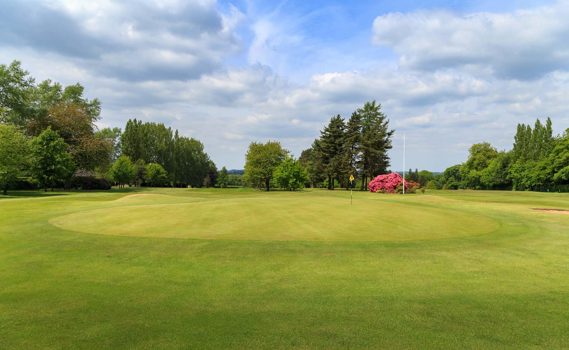 south staffordshire golf club hole 18