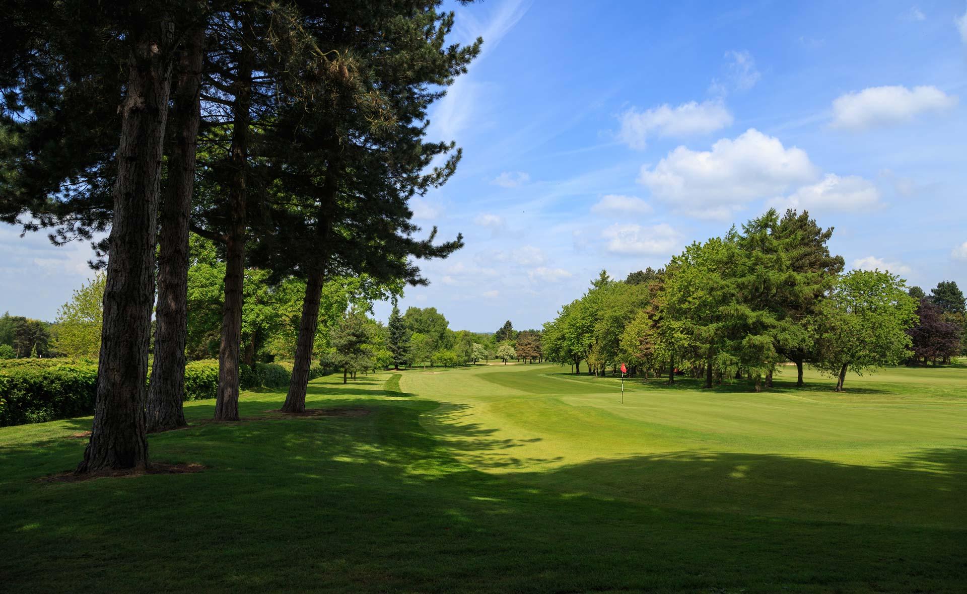 south staffordshire golf club hole 3