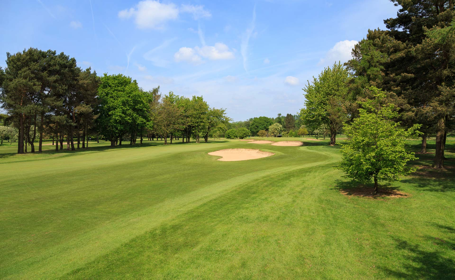 south staffordshire golf club hole 4