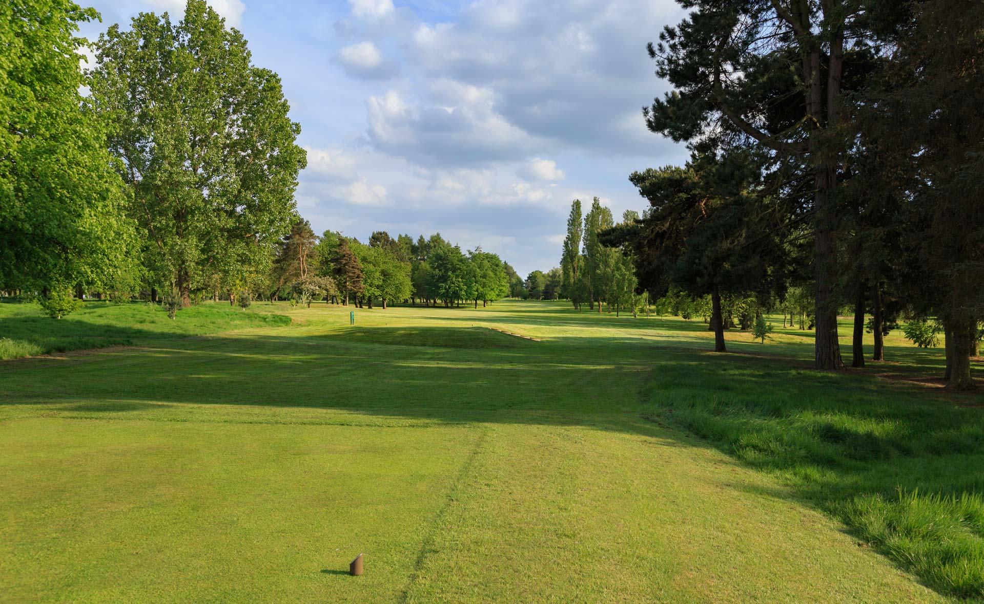 south staffordshire golf club hole 5