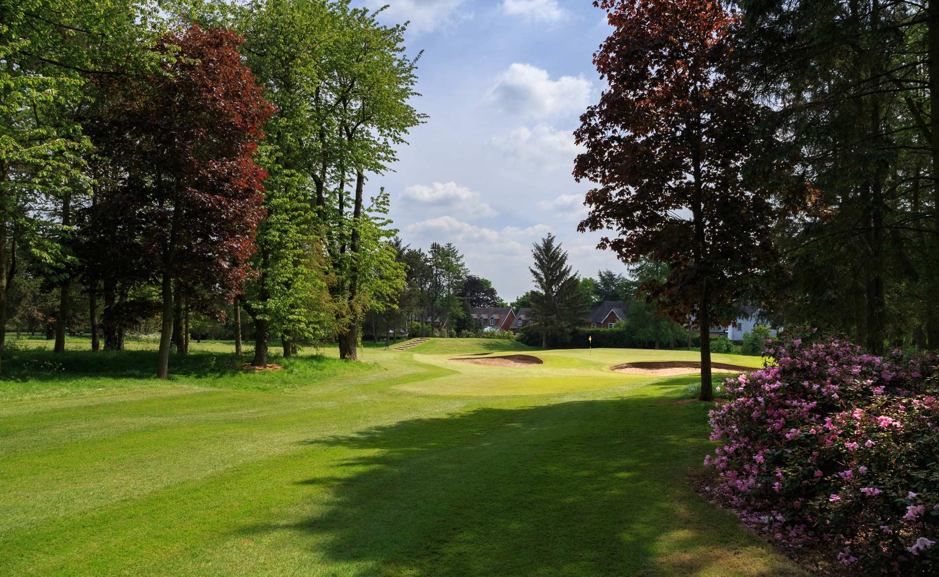 south staffordshire golf club hole 6