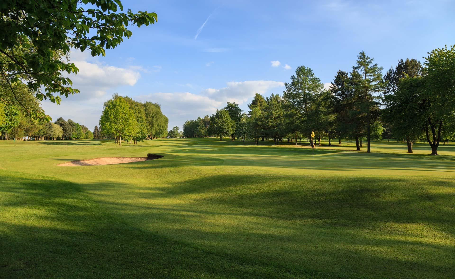 south staffordshire golf club hole 7