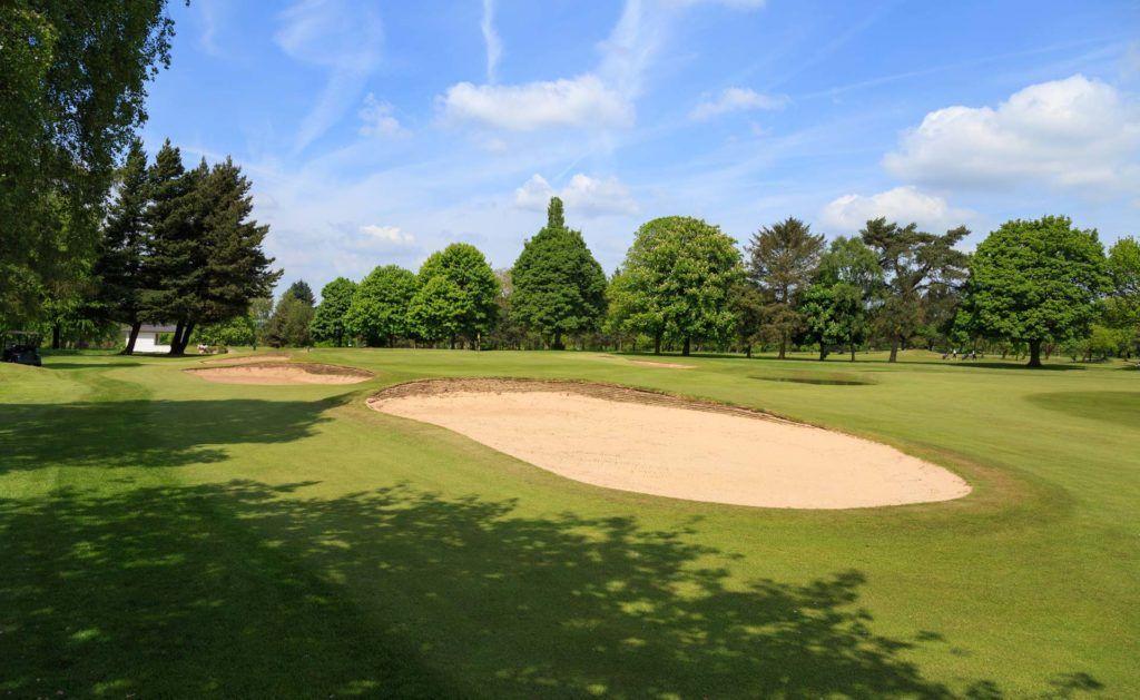south staffordshire golf club hole 9