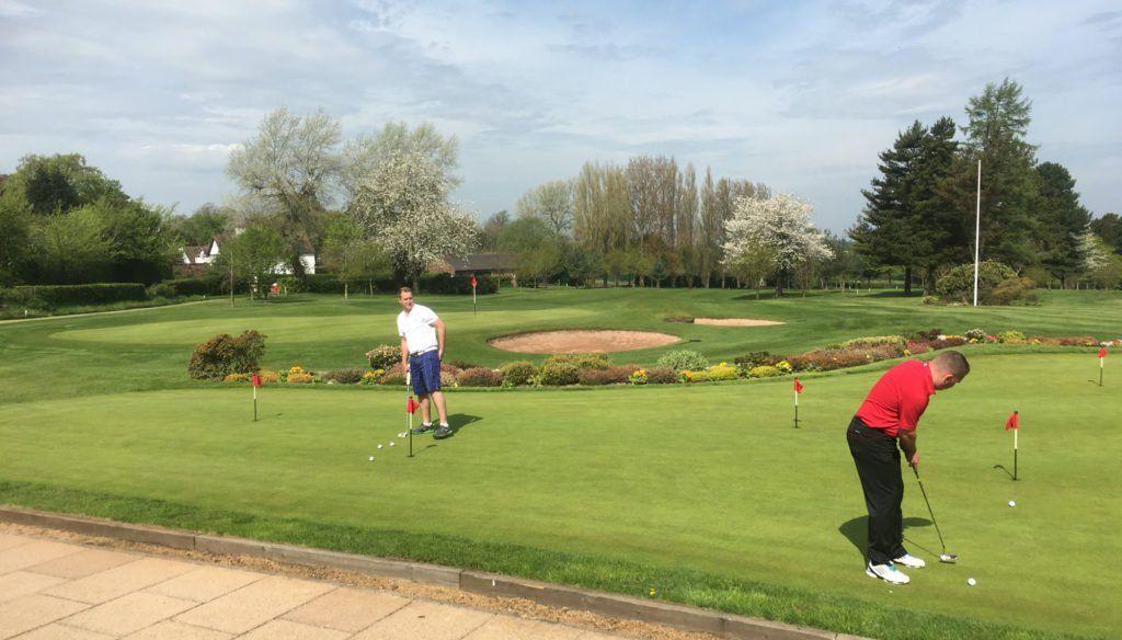 south stafordshire golf club putting green
