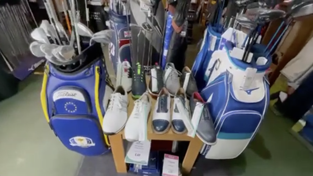 Golf Shoes abvailable at South Staffordshire Golf Club
