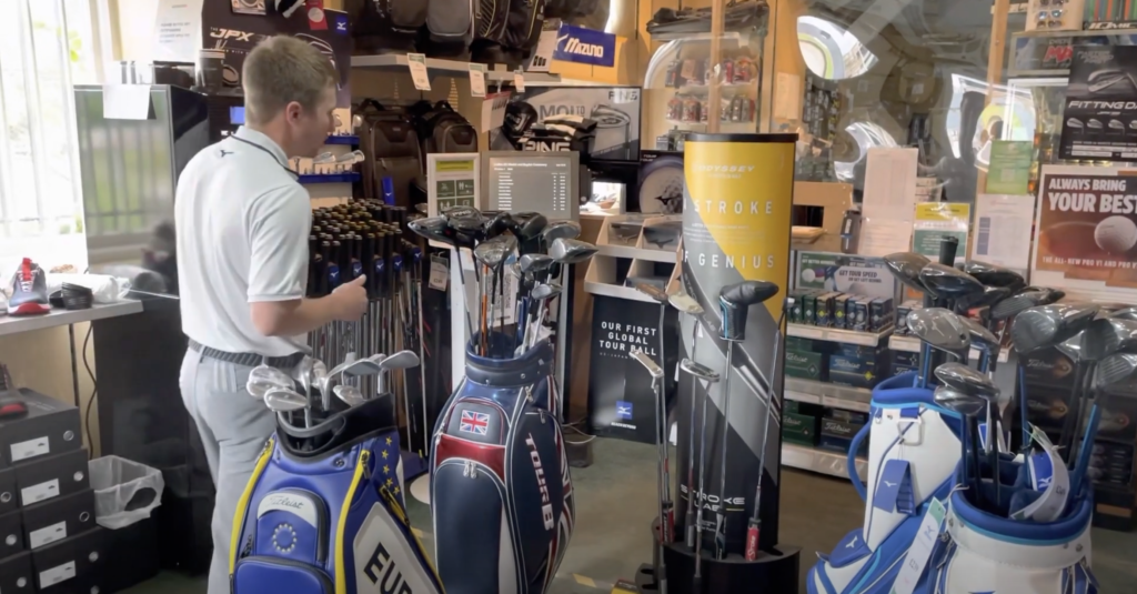 golf clubs available at south staffs golf club