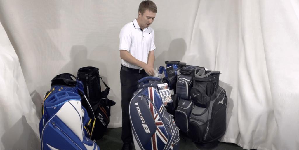 golf bags at south staffordshire golf club